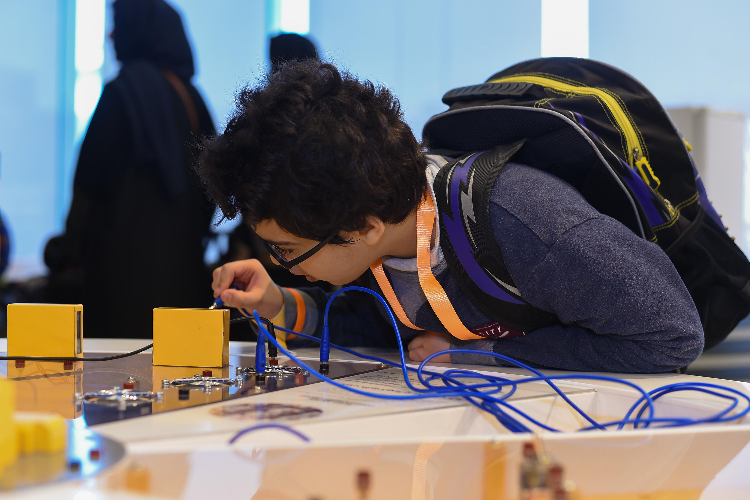 مستكشفو طاقة المستقبل من ذوي الأحتياجات الخاصة